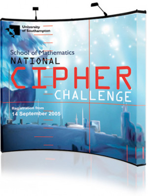 National Cipher Challenge annual exhibition for University of Southampton