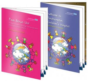 Childrens Hospital Welcome books, design & artwork