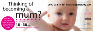 Bus advert for MRC Unit, University of Southampton