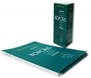 BOPCRIS leaflet & folder identity, design & artwork