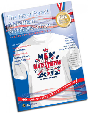 Event brochure for New Forest Marathon