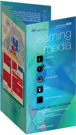 DL information leaflet for Learning Media Services, NHS