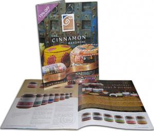 Catalogue and branding for Cinnamon Wardrobe