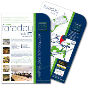 Information inserts for Hersham Place Technology Park