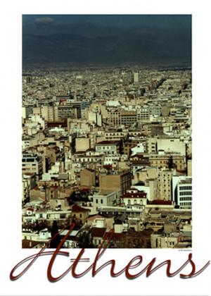 Athens promo poster
