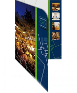 Technology Park identity, folder design & artwork