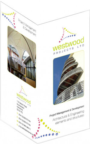 Brand and information leaflet for Westwood Projects Ltd