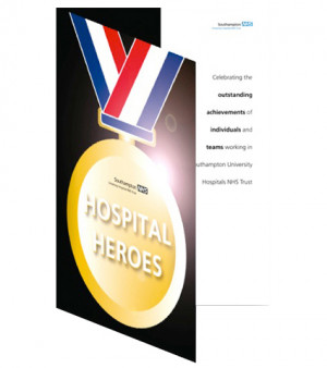 Hospial Heroes folder design & artwork