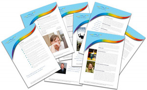 Information pack inserts for Supported Living UK