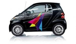 Studio Creative CGI vehicle graphics
