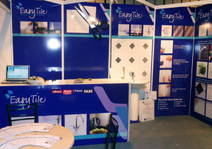NEC exhibition stand for EasyTile