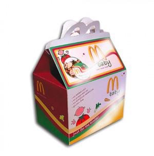 McDonalds baby food box design & packaging